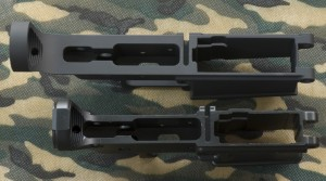 CMMG AR-15 and DPMS LR-308 Stripped Receiver Top View