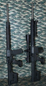 "AR-15 versus DPMS LR-308 Similarly built 24"" BULL BARRELS"